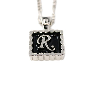 [R.]Charm necklace SILVER