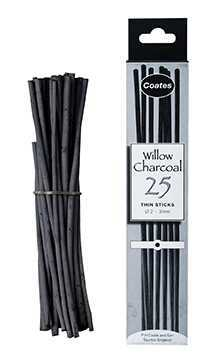 Willow Charcoal Sticks