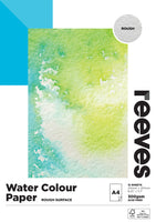 Reeves Watercolour Paper 300gsm 12 Sheets - Rough