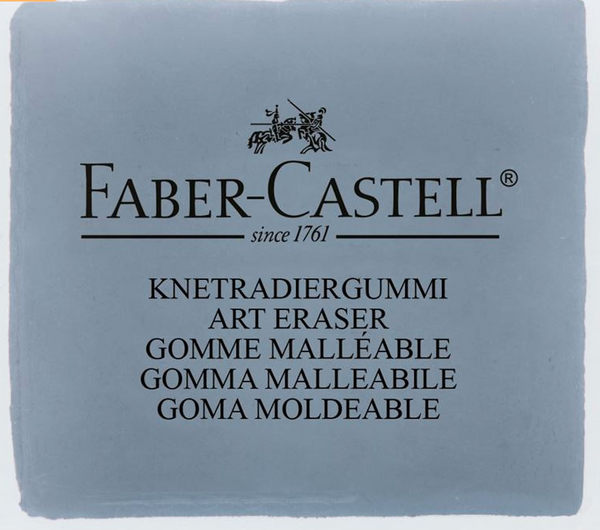 Kneadable Art Eraser, Grey