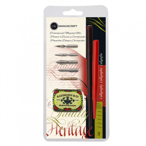 Drawing & Mapping Nibs - Calligraphy Pen Set