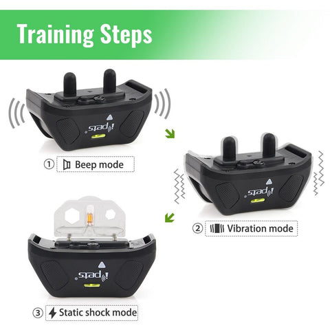 Best Anti-bark Dog Training collar Remote Control | 800M | Waterproof | Rechargeable | Wild Crave