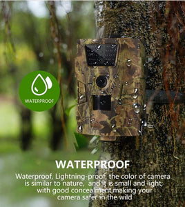 eprolo Wildlife Trail Camera HT001B Infrared Night Vision Hunting Cameras 12MP Outdoor Wild Surveillance Tracking