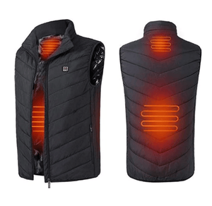 Heated Vest Outdoor Heating Vest Hiking Clothing USB Charging Intelligent Vest By Wild Crave