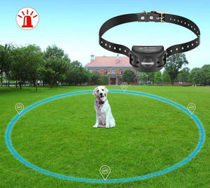 Dog Collar For 3 Dogs Wireless Electric Dog Pet Fence Containment System Transmitter Training Collar Waterproof-1,2,3 Dog System