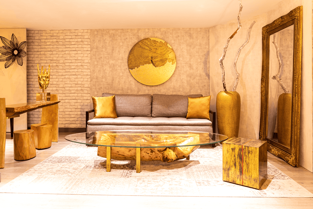 Luxury Furniture - A Golden Touch to Liven Up Your Space