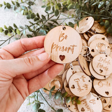 Load image into Gallery viewer, Wooden Inspire Keyrings