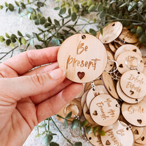 Wooden Inspire Keyrings