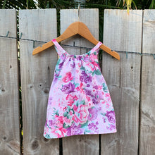 Load image into Gallery viewer, Girls Floral Handmade Top