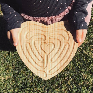 Small Heart Finger Labyrinth