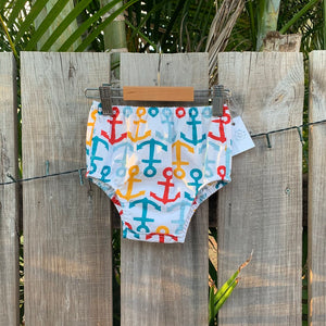 Anchors Baby Nappy Cover
