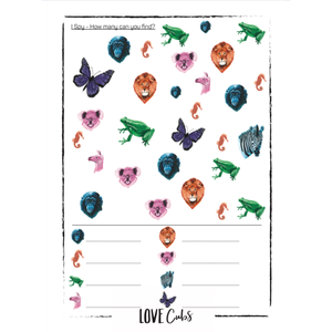 Activity Booklet - PRINTABLE