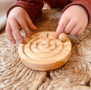 Small Celtic Finger Labyrinth