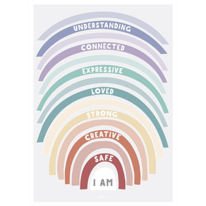 Affirmations Poster Wall Decal