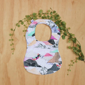 Rainbow Clouds Bib
