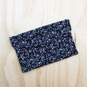 Dark Floral Nappy Clutch Nappy Wallet Baby Girl