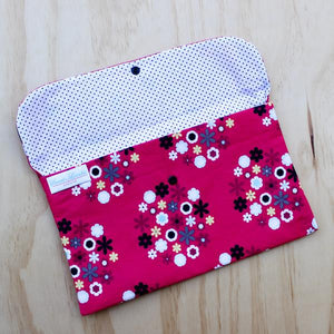 Floral Nappy Clutch