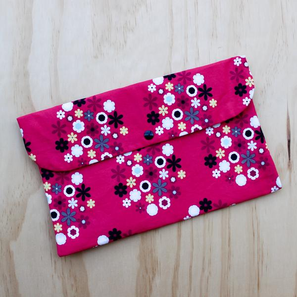 Floral Nappy Cover Nappy Wallet Baby Girl