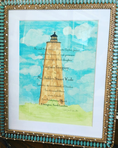 Wedding Invitation Paintings