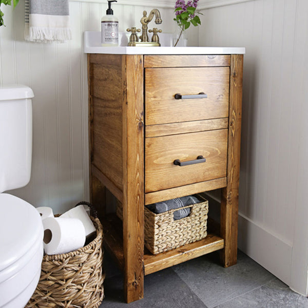 DIY Bathroom Vanity Build Plans