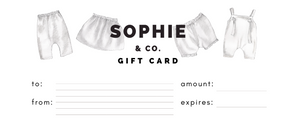Sophie & Co Gift Card