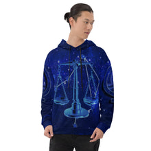 "Load image into Gallery viewer, ""Libra"" Unisex Hoodie"