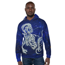 "Load image into Gallery viewer, ""Capricorn"" Unisex Hoodie"