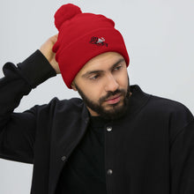 "Load image into Gallery viewer, ""Keoma""  Alt Logo Pom-Pom Beanie"