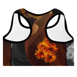 """A Lover's Tale"" Padded Sports Bra"
