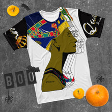 "Load image into Gallery viewer, ""Queen Nefertiti B&W"" Men's T-shirt"