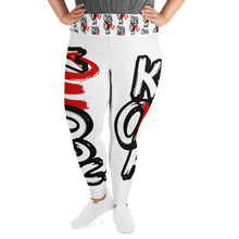 "Load image into Gallery viewer, ""Keoma"" Plus Size Leggings"