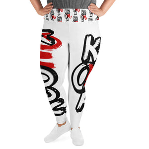 """Keoma"" Plus Size Leggings"
