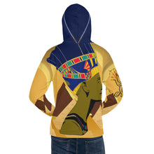 "Load image into Gallery viewer, ""Queen Nefertiti"" Unisex Hoodie"