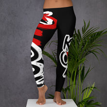 "Load image into Gallery viewer, ""Keoma Black"" Leggings"