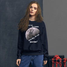 "Load image into Gallery viewer, ""Everyone Has A Darkside"" Version 1 Unisex Sweatshirt"