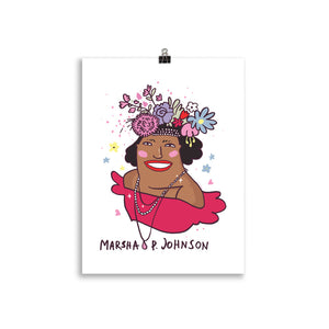 Marsha P. Johnson Poster