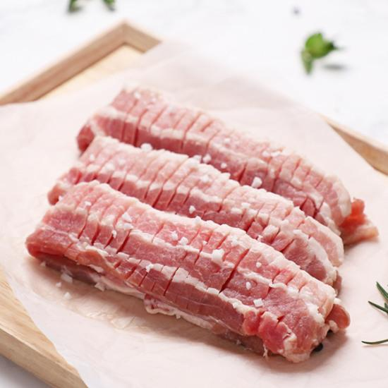 Pork Belly cut in Bee-hive style / 벌집삼겹살 / 蜂巢式五花肉 (400g)