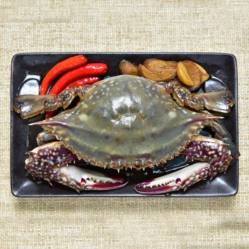 Soy Sauce Marinated Crab / 간장게장 (醬油蟹) (1마리)