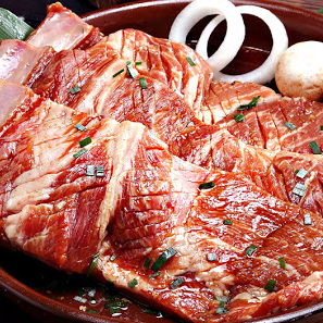 King-size Pork Marinated Short Ribs / 돼지왕갈비 / 醬醃大豬排骨 (350g)