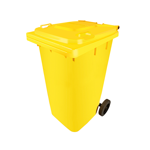 Garbage with wheels 120 liters