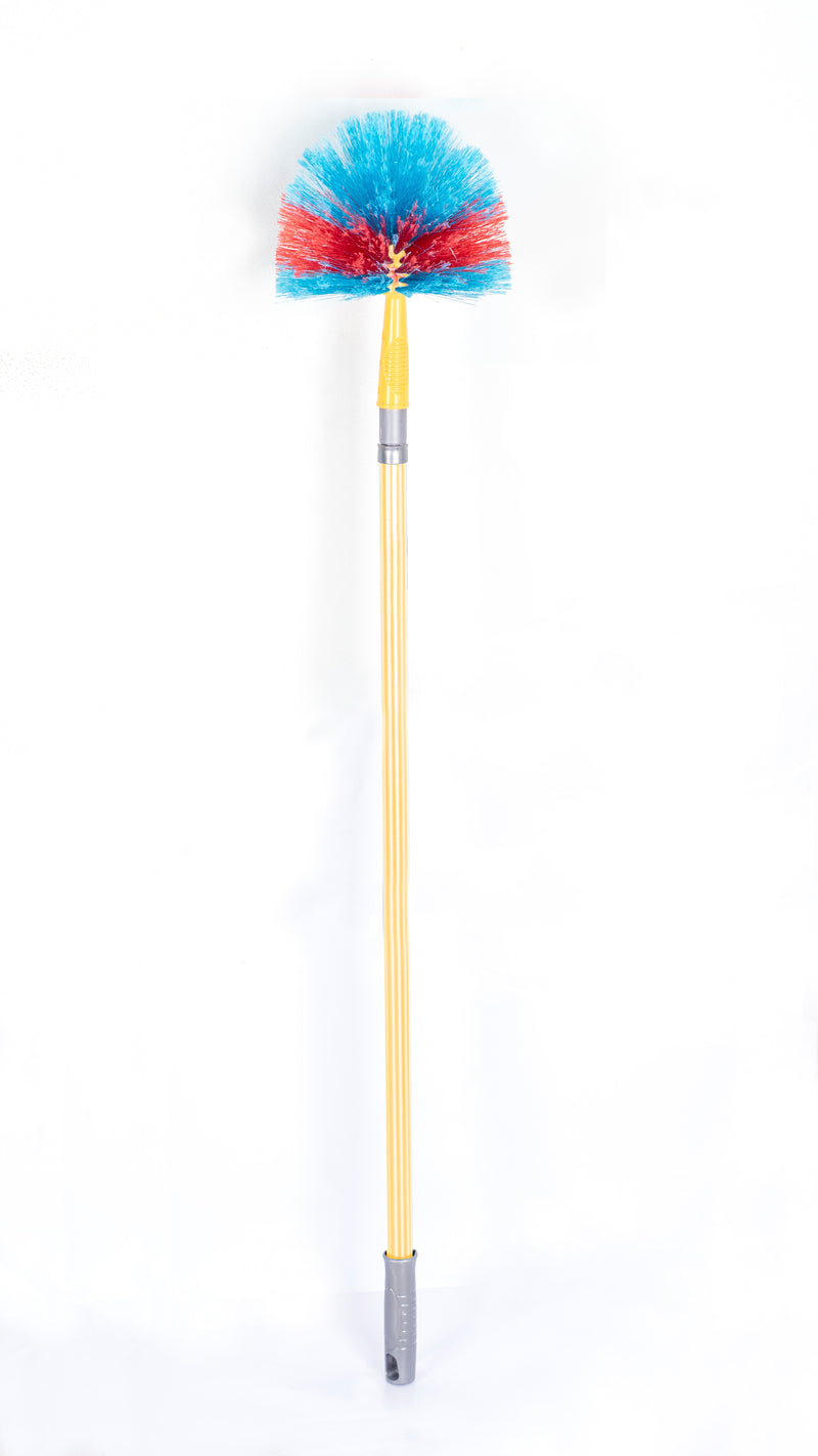 Round Duster with Telescopic Handle