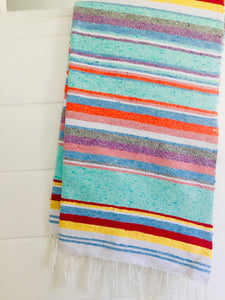 Bohemian Tides Cotton Adventure Blanket