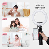L3, Live equipment and Selfie, LED Ring Light, Table tripod, LM229