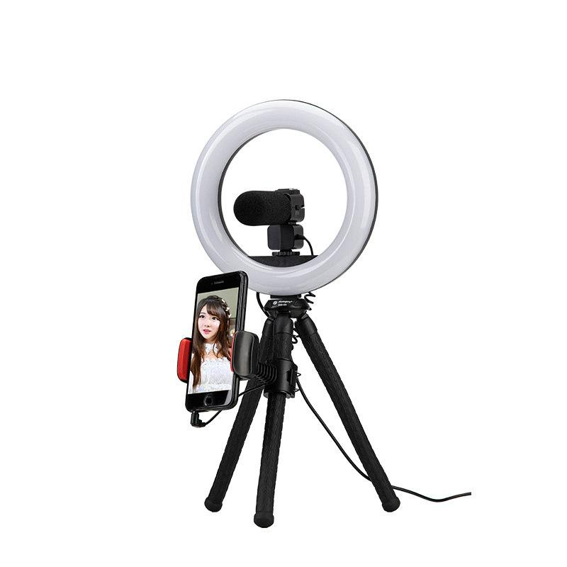 L3, Live equipment and Selfie, LED Ring Light, Table tripod, LM229 - FotoproOfficial