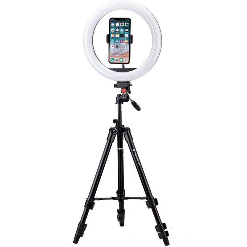 L4, Live equipment and Selfie, LED Ring Light, Table tripod, LM228 - FotoproOfficial