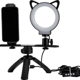 L2, Live equipment and Selfie, LED Ring Light, Table tripod, LM230 - FotoproOfficial