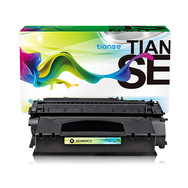 Compatible for HP Q5949X/Q7553X High Capacity Black Toner Cartridges