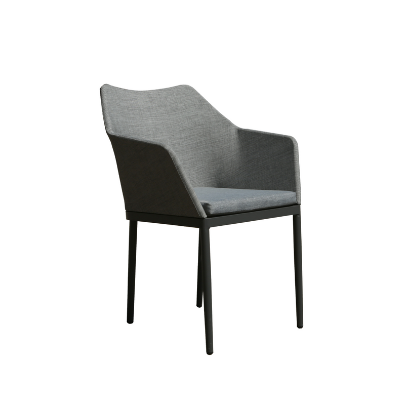 Aluminium - Sorrento Dining Chair