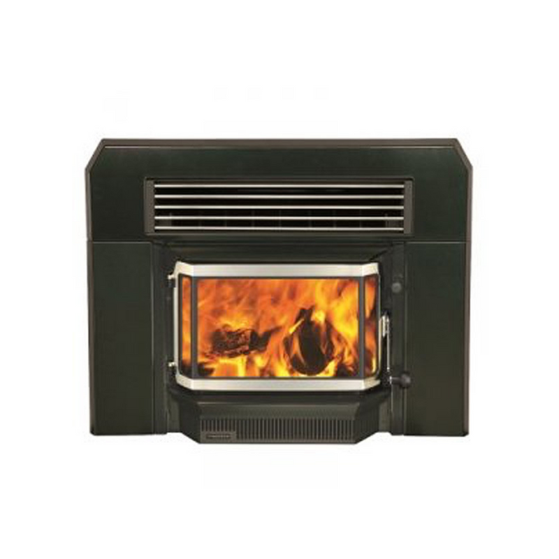 Firenzo Forte Aqualux Insert Wood Fire
