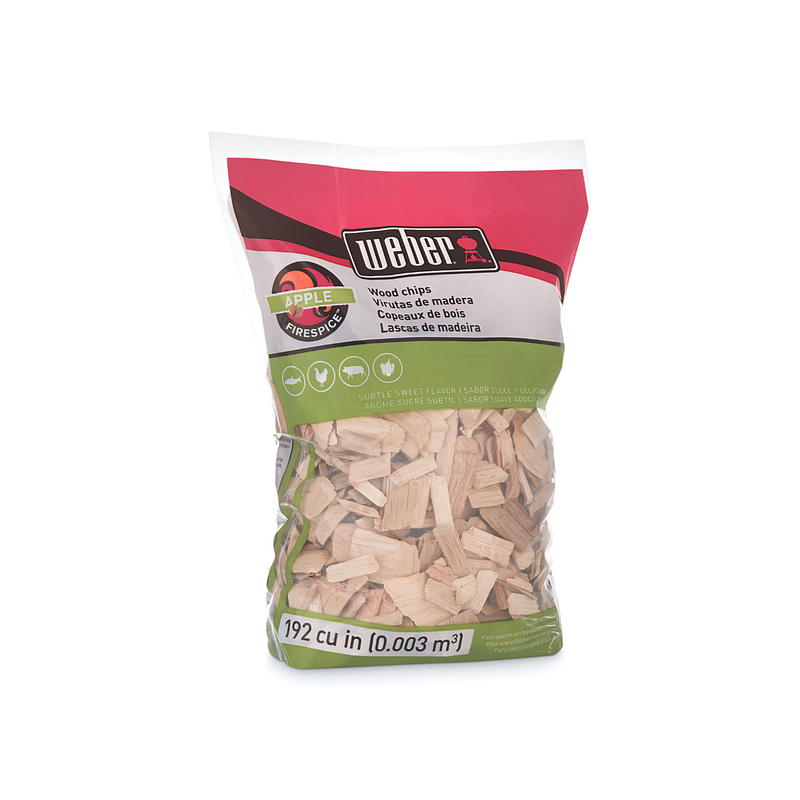 Weber Apple Wood Chips 900g